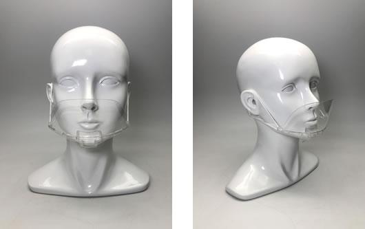 飛沫防止用 透明マスク