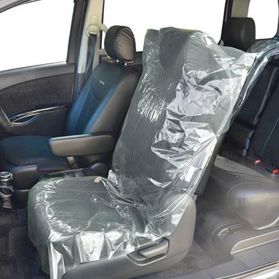 フロント座席用ポリシートカバー(ゴムなし)