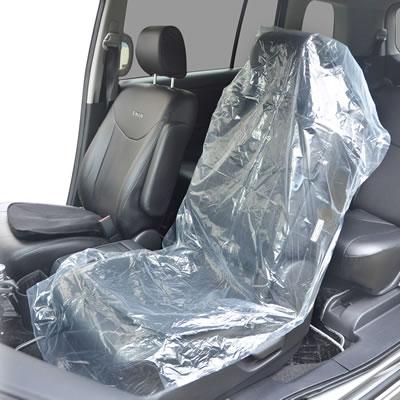 フロント座席用ポリシートカバー